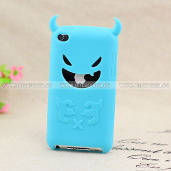 Funda apple ipod touch 4 diablo carcasa silicona gel for Housse ipod classic