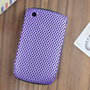 Carcasa Blackberry Curve 8520 Agujero Funda Rigida - Purpura