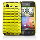 Carcasa HTC Incredible S G11 S710e Agujero Funda Rigida - Amarillo