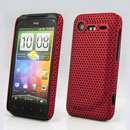 Carcasa HTC Incredible S G11 S710e Agujero Funda Rigida - Rojo