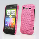 Carcasa HTC Incredible S G11 S710e Agujero Funda Rigida - Rosa
