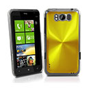 Carcasa HTC Titan X310e Aluminio Metal Plated Funda Rigida - Golden