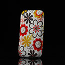 Funda Apple iPhone 3G 3GS Flores Carcasa Silicona Gel - Brown