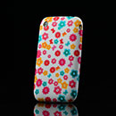 Funda Apple iPhone 3G 3GS Flores Carcasa Silicona Gel - Rosa