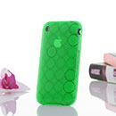 Funda Apple iPhone 3G Cercle Carcasa Gel TPU - Verde