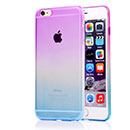 Funda Apple iPhone 6 Plus Gradiente Carcasa Gel Silicone - Purpura
