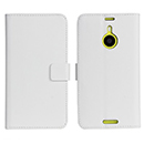 Funda de Cuero Nokia Lumia 1520 Holder Soporte Cover - Blanco