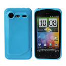 Funda HTC Incredible S G11 S710e Carcasa Gel Silicone - Cielo Azul