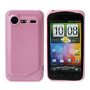 Funda HTC Incredible S G11 S710e Carcasa Gel Silicone - Rosa