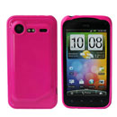 Funda HTC Incredible S G11 S710e Carcasa Gel Silicone - Rosado