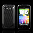 Funda HTC Incredible S G11 S710e Diamante Carcasa Gel TPU - Gris