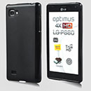 Funda LG Optimus 4X HD P880 Carcasa Gel Silicone - Negro