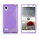 Funda LG Optimus L9 P760 S-Line Silicone Gel - Purpura