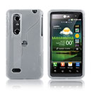 Funda LG P920 Optimus 3D S-Line Silicone Gel - Blanco