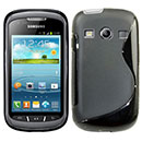 Funda Samsung Galaxy Xcover 2 S7710 S-Line Silicone Gel - Negro