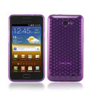 Funda Samsung i9103 Galaxy R Diamante Carcasa Gel Silicone - Purpura