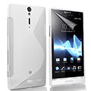 Funda Sony Xperia S LT26i S-Line Silicone Gel - Clear